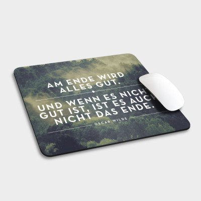 Am Ende - Mousepad