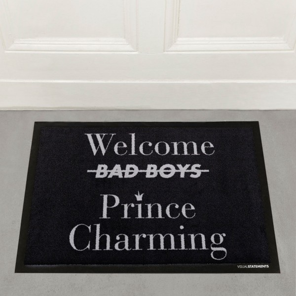Welcome Prince Charming - Fußmatte