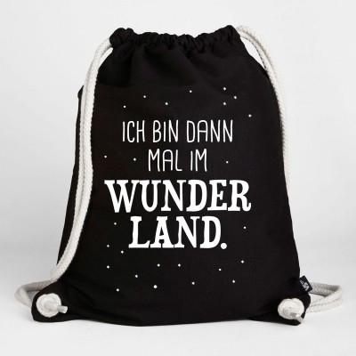 Wunderland - Turnbeutel