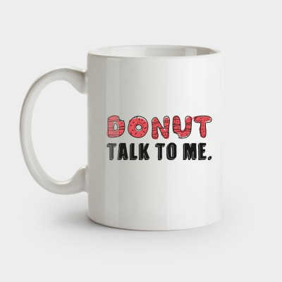 Donut talk to me - Tasse
