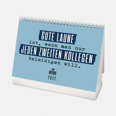 Wochentischkalender 2022 - Kalender 2022 fürs Büro