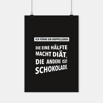Poster Wrdprn - Ich führe ein Doppelleben