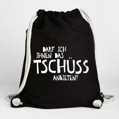 Tschüss - Turnbeutel
