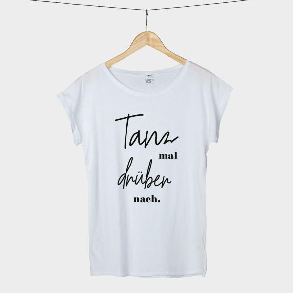 T shirt mit kleid druber