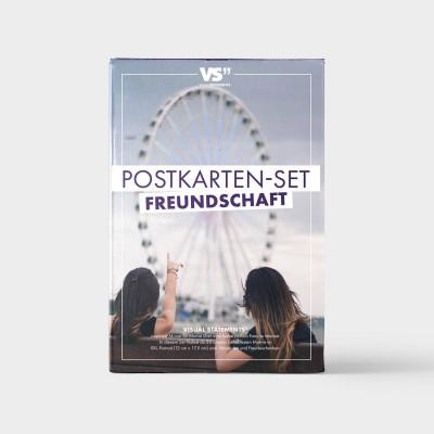 20er Postkarten-Set - Freundschaft