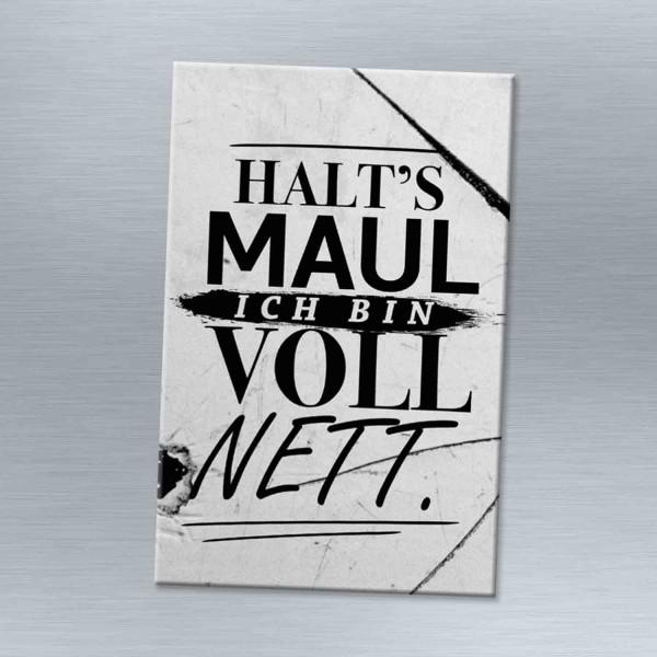Halt's Maul - Magnet