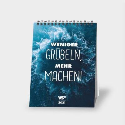 "VS"" Wochentischkalender 2021 - Best Of VS"""