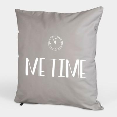 Kissenbezug grau 50x50cm - Me Time